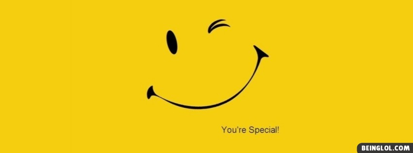 Smile You Are Special Facebook Covers