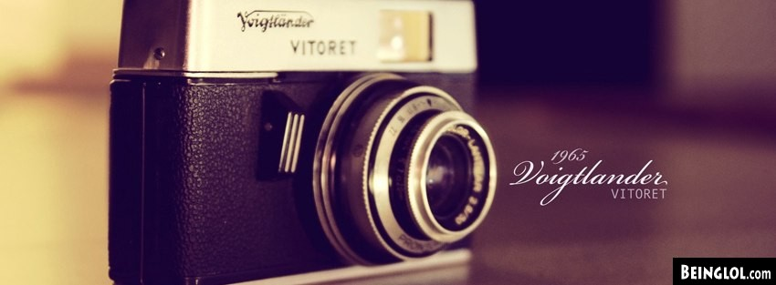 Vintage Vitoret Camera Facebook Covers