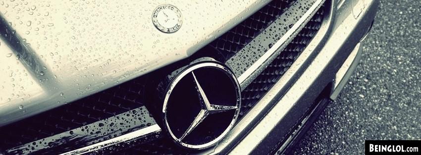 Vintage Water Drops Emblem Mercedes Benz