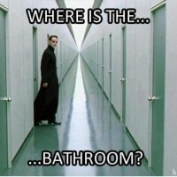 Where's The Bathroom ?