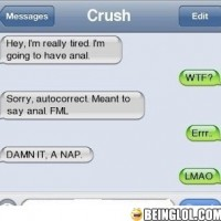 Not Something You Should Ever Say To Your Crush!
