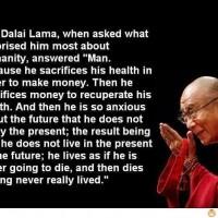 Dalai Lama About Humanity