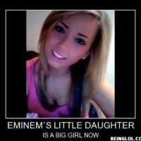 Eminem's Little Daughter ...