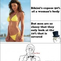 Fact About Men When Seeing A Girl In Bikini ...