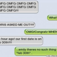 Chris Asked Me Out !