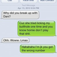 Wrong Number – Funny Texting