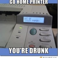 Go Home Printer!