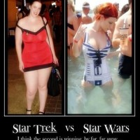 Comparison Of Star Trek And Star Wars