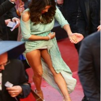 Eva Longoria Wears No Panty At Cannes Fail