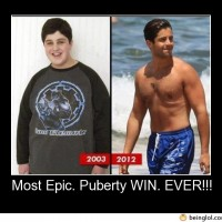 Most Epic. Puberty Win. Ever!!!