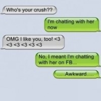 Friendzoned While Texting! !!awkward!!