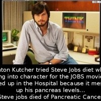 Did You Know That Ashton Kutcher Tried Steve Jobs Diet And…