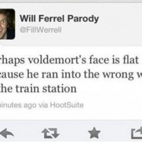 Why Voldemort's Face Is Flat.