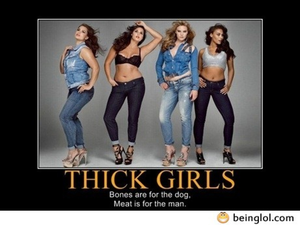 thick girls rule beinglol com