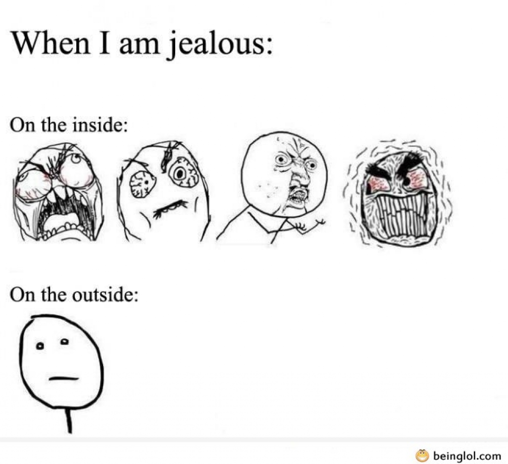 Funny Random Quotes When You Are Jealous  Beinglol