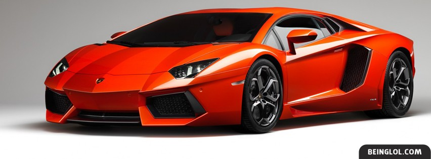 2012 Lamborghini Aventador Facebook Covers
