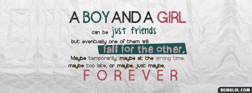 A Boy And A Girl Facebook Covers