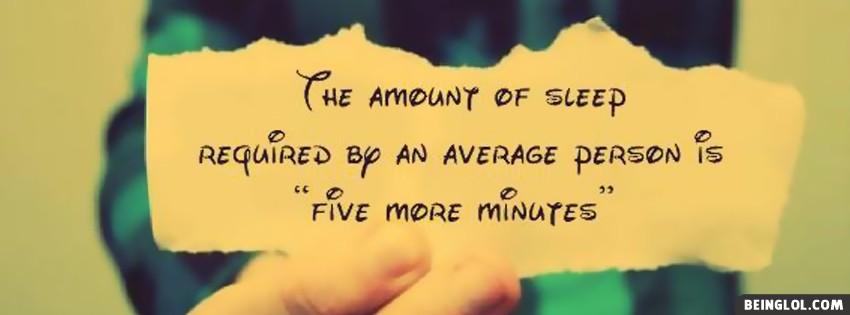 Amount Of Sleep