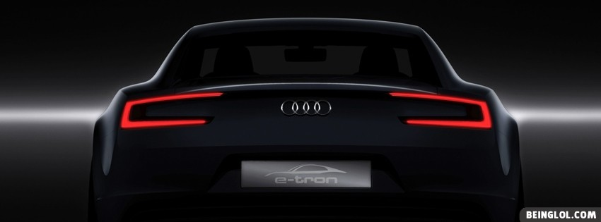 Audi E Tron Facebook Covers