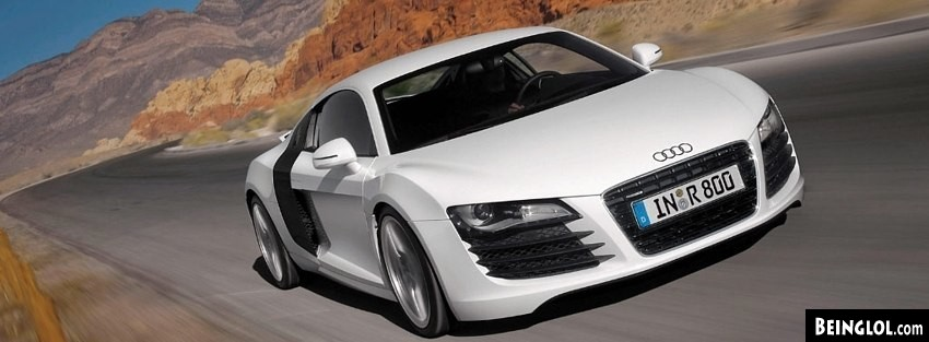 Audi R8 427 Facebook Covers