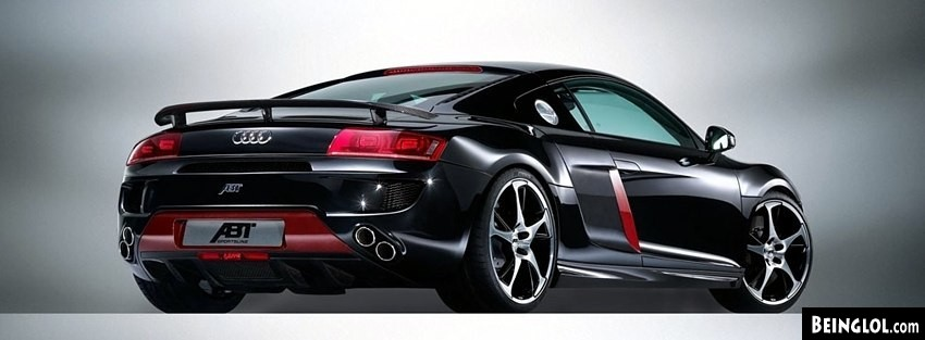Audi R8 Abt Facebook Covers