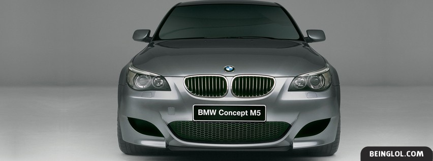 Bmw Concept M5 Facebook Covers