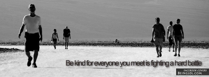 Be Kind Facebook Covers