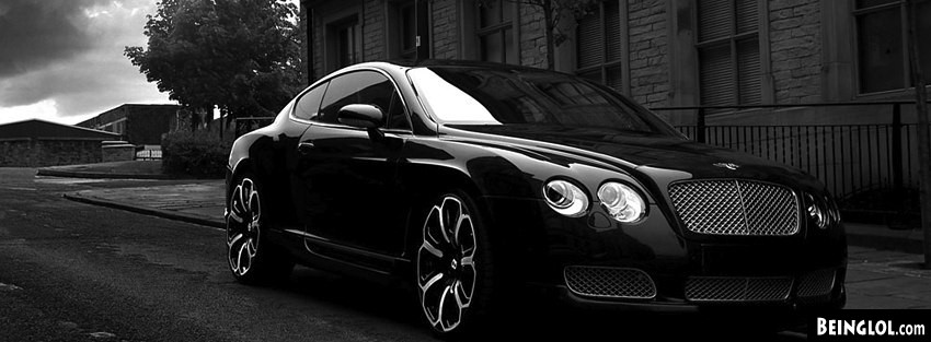 Bentley Gts Black Ed 2008 Facebook Covers