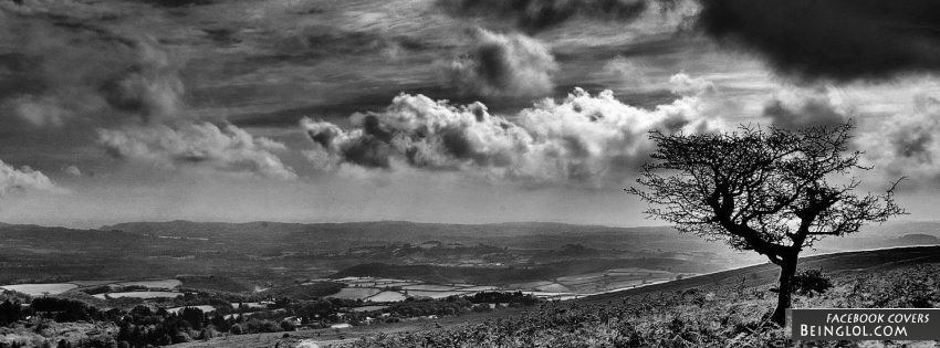 Black And White Landscape Facebook Covers