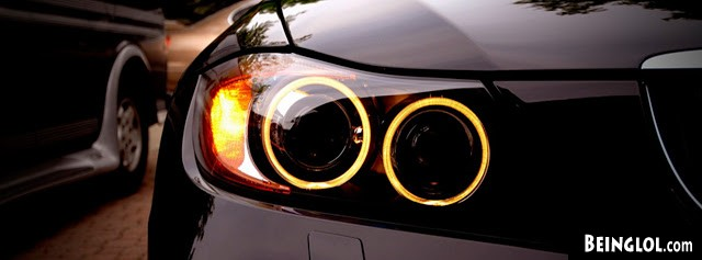 Bmw Headlights Facebook Covers