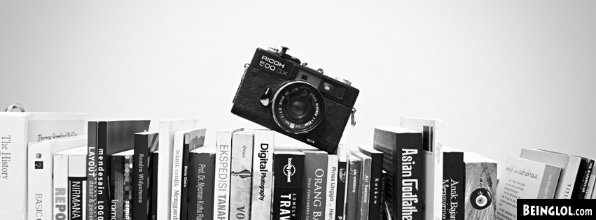 Camera And Books Facebook Covers