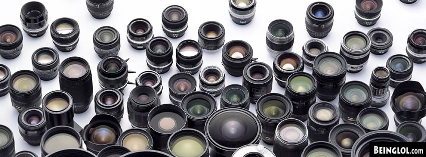 Camera Lenses Facebook Covers