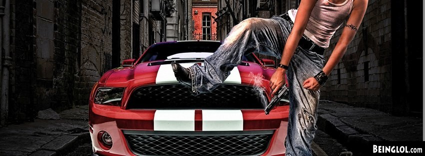 City Thug With Mustang