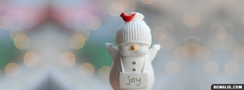 Cute Christmas Joy Snowman
