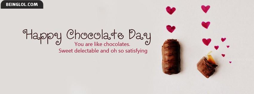 Cute Happy Chocolate Day