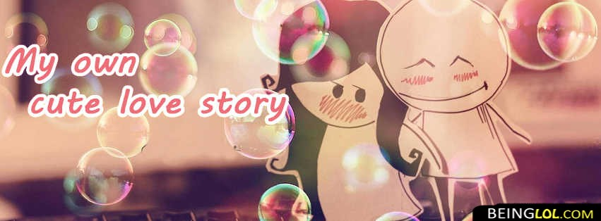 Cute Love Story Facebook Covers