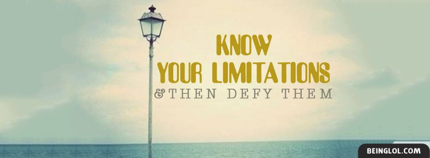 Defy Your Limitations Facebook Covers