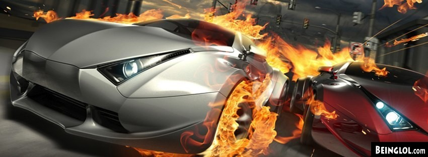 Destructive Cars Facebook Covers