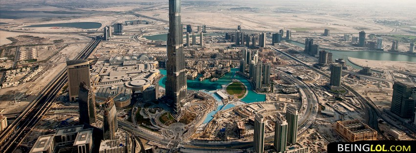 Dubai City FB Cover
