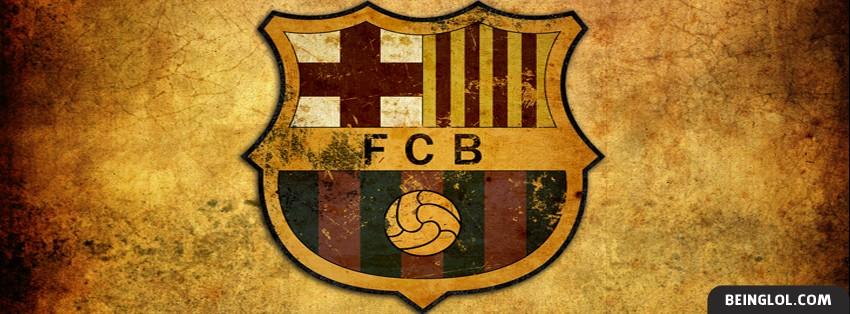 FC Barcelona Faded Logo