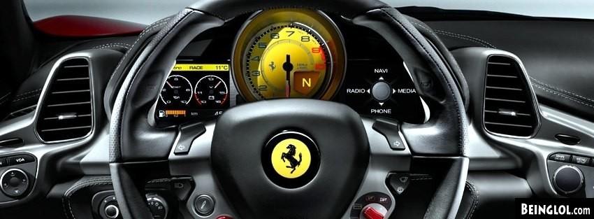 Ferrari 458 Facebook Covers