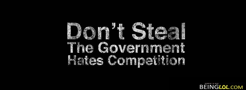 Funny Government Quote Best Facebook Cover Funny Government Quote