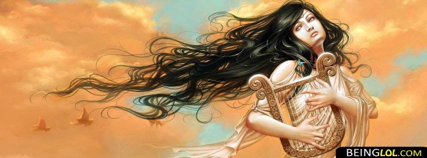 Girl with instrument FB Cover