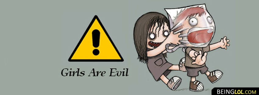 Girls Are Evil Facebook Cover