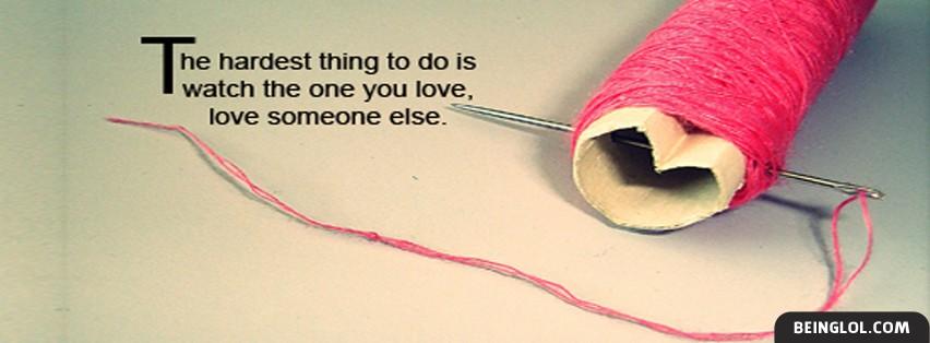 Hardest Thing To Do