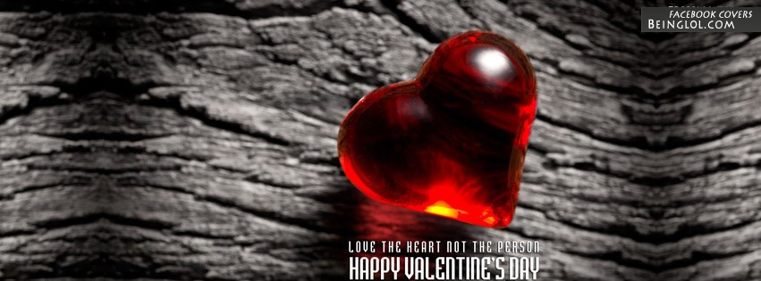 Heart Valentines Day Facebook Covers