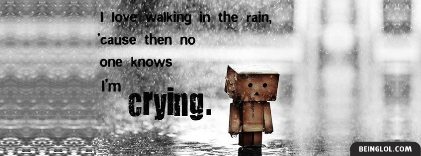 I Love Walking In The Rain 2 Facebook Covers