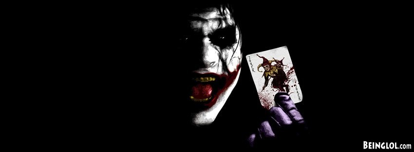 Joker Batman Dark Knight Top Facebook Cover Joker Batman