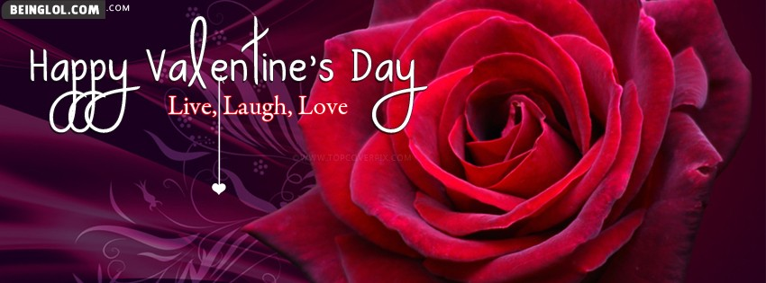 Live Laugh Love Valentines Day
