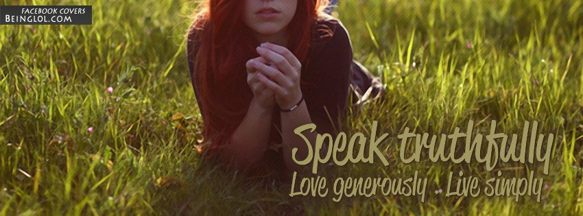 Live Simply Facebook Covers